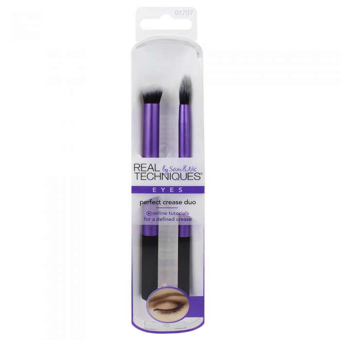 Set 2 Pensule Profesionale REAL TECHNIQUES Eyes Perfect Crease Duo-big