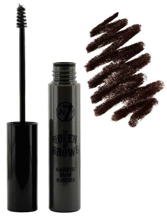 Gel Pentru Conturarea Sprancenelor W7 Queen Of Brows-Medium Deep-big