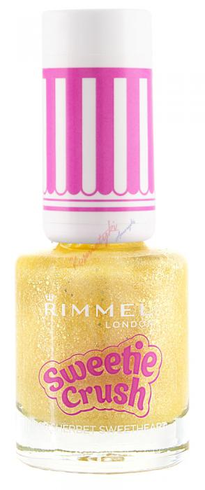 Lac de unghii texturat Rimmel Sweetie Crush - 008 Sherbet Sweetheart-big