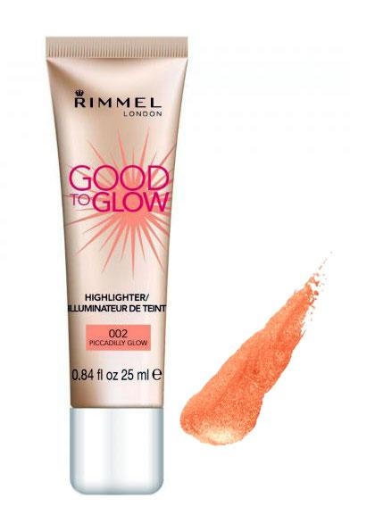 Iluminator Rimmel Good To Glow - 002 Piccadilly Glow,25 ml-big