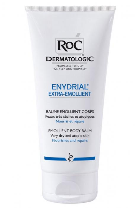 Balsam De Corp Extraemolient RoC ENYDRIAL 200 ml pentru piele uscata si sensibila, 200ml-big