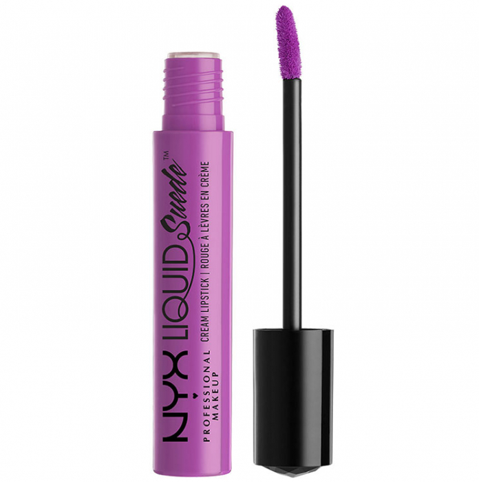 Ruj lichid mat NYX Professional Makeup Liquid Suede Cream, 06 Sway Emprise, 4 ml-big