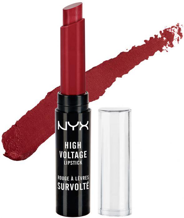 Ruj NYX Professional Makeup High Voltage Lipstick - 20 Burlesque-big