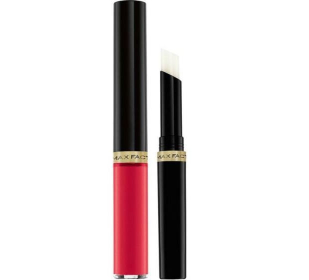 Ruj de buze rezistent la transfer Max Factor Lipfinity, 026 So Delightful, 2.3 ml + 1.9 g-big