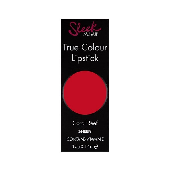 Ruj Sleek True Color Lipstick - 722 Coral Reef ,3.5 gr-big