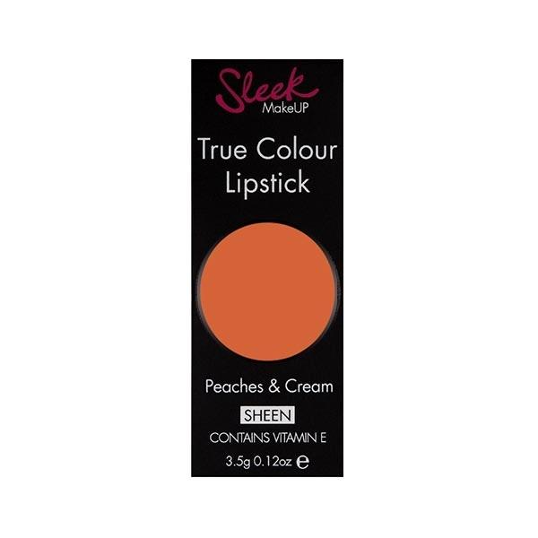 Ruj Sleek True Color Lipstick - 774 Peaches & Cream, 3.5 gr-big
