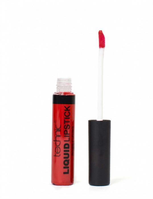 Ruj Mat Lichid Techic Liquid Lipstick - Red Russian-big