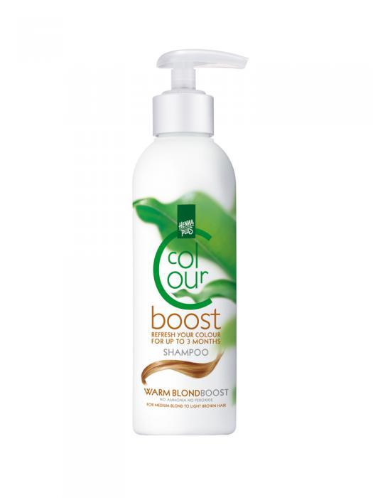 Sampon colorant HennaPlus Colour Boost, Warm Blond - 200 ml-big