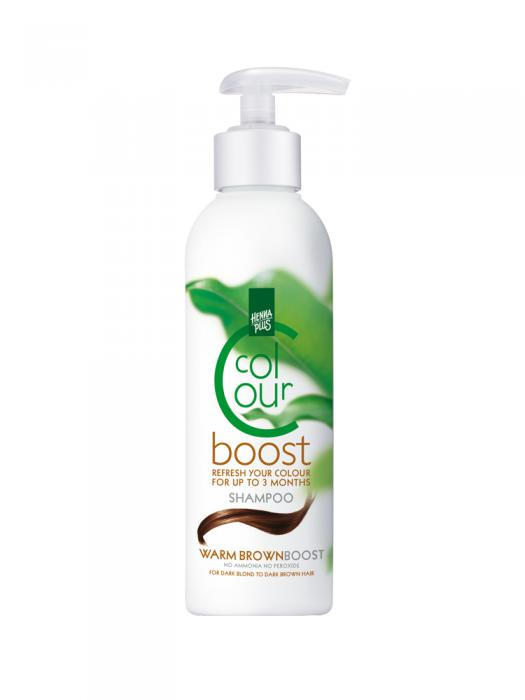 Sampon HennaPlus Colour Boost Warm Brown - 200 ml-big