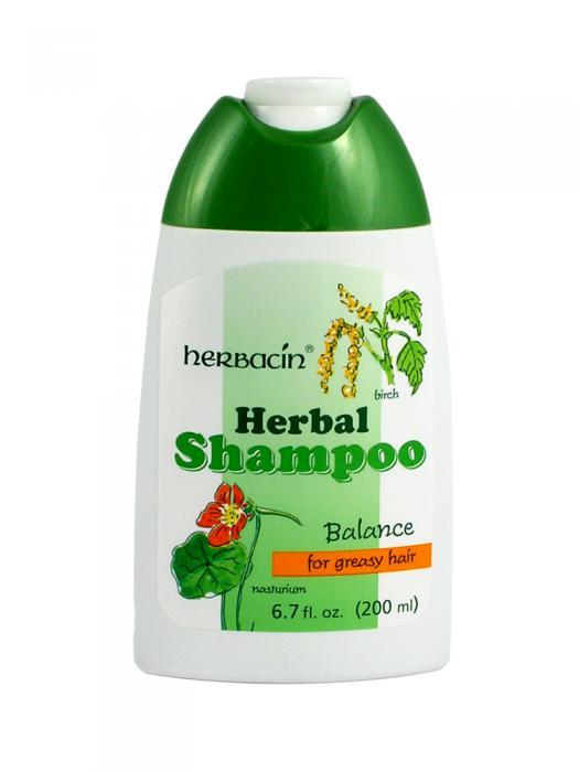 Sampon Pentru Par Gras Herbacin Cu Mesteacan-200 ml-big