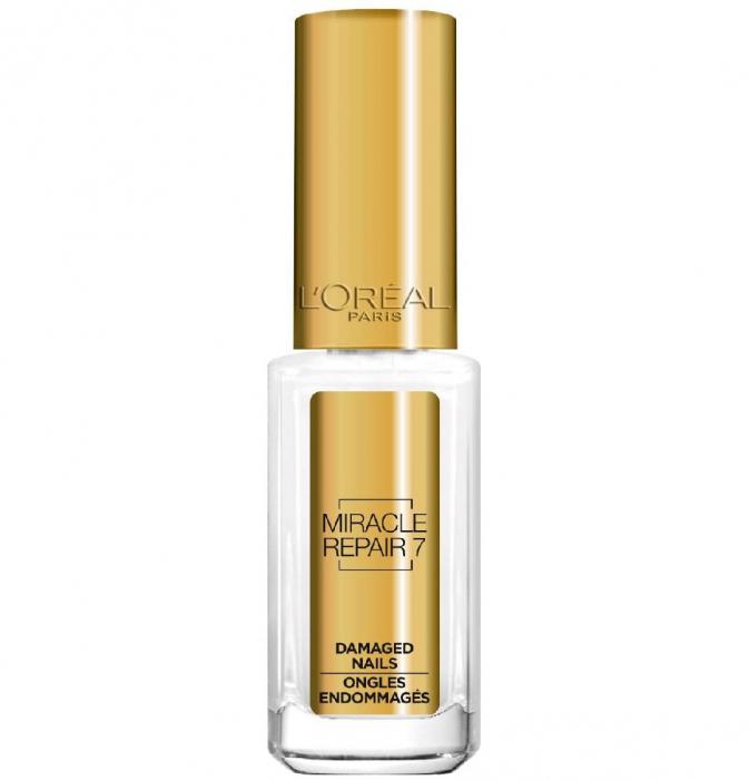 Ser Tratament Pentru Unghii Deteriorate L'Oreal La Manicure Miracle Serum 7 in 1, 5 ml-big