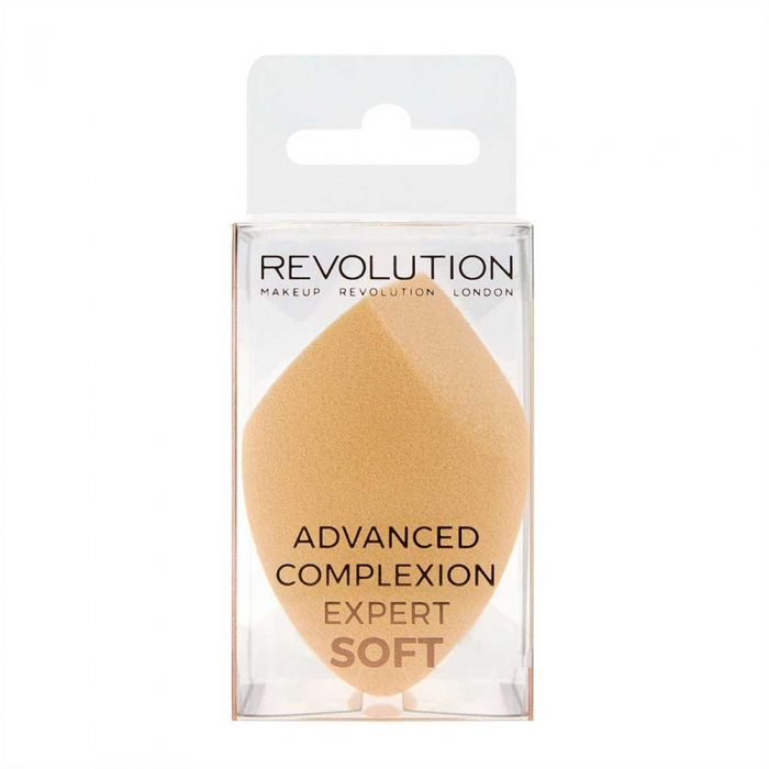Set 2 Buretei Profesionali pentru machiaj MAKEUP REVOLUTION Complexion Expert Duo Sponge, Hard & Soft-big
