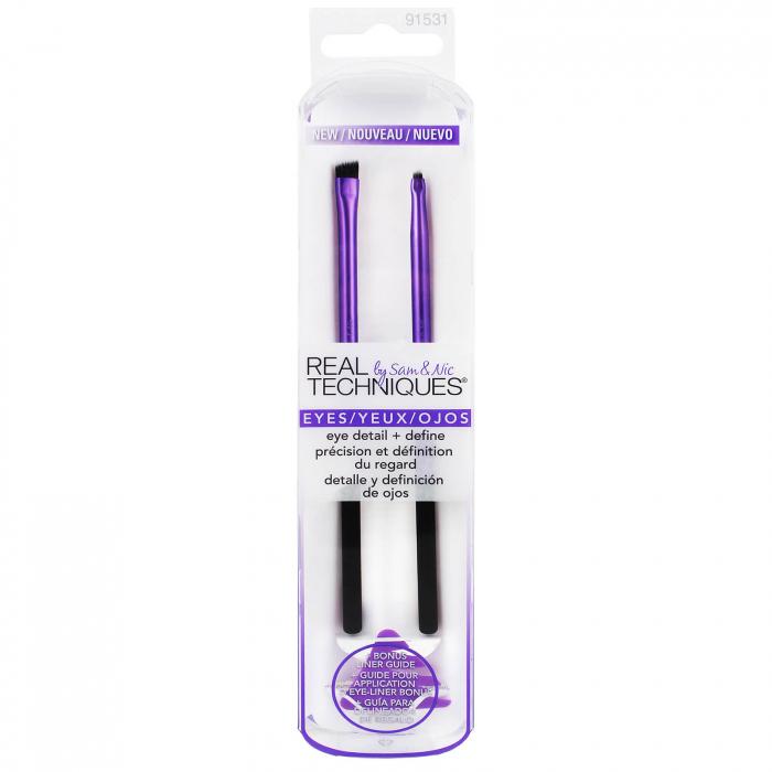 Set 2 Pensule Profesionale REAL TECHNIQUES Eye detail + Define brush set-big