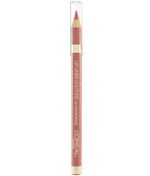 Set Buze L'Oreal Paris Color Riche Lip Kit: Ruj si Creion de Buze 630 Beige A Nu-big