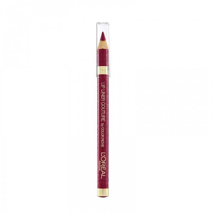 Set Buze L'Oreal Paris Color Riche Matte Lip Kit: Ruj 104 Strike A Rose si Creion de Buze 258 Berry Blush-big