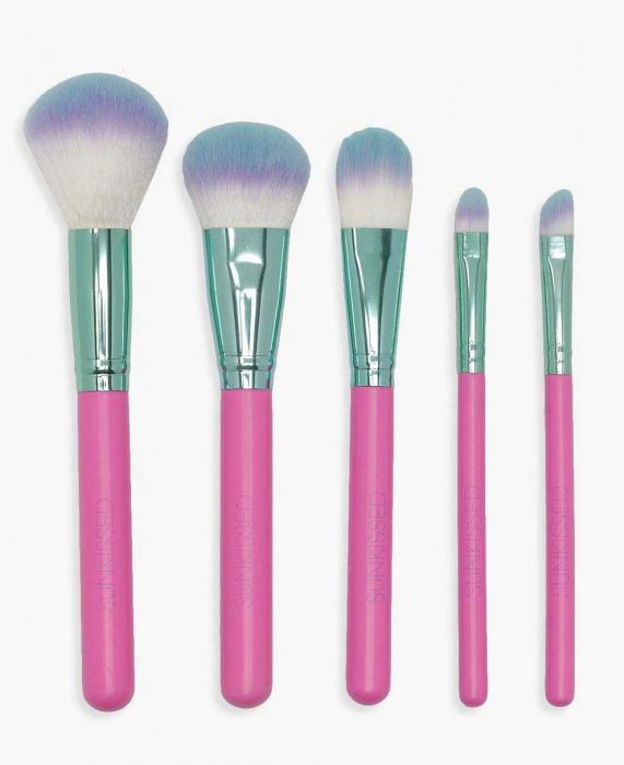 Set de 5 Pensule pentru Conturare si Blending, SUNKISSED Blend Like A Pro-big