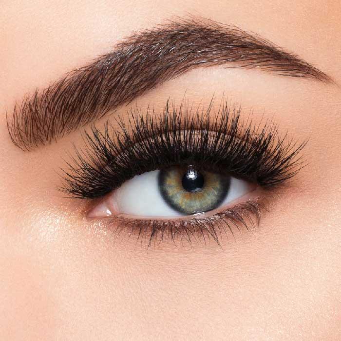 Set Gene False simple de Tip Banda, Eyelashes 018-big