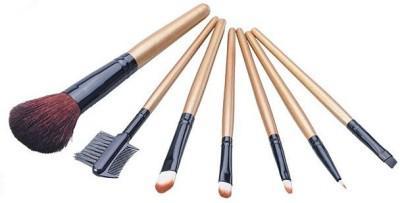 Set 7 Pensule Profesionale Luxury pentru Machiaj - Wood Addicted-big