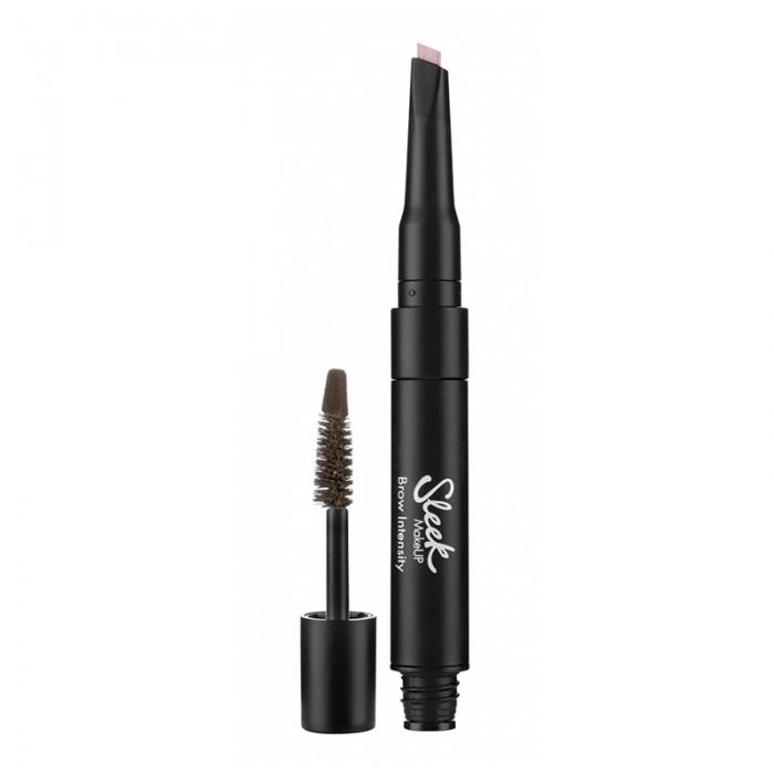Creion si Mascara pentru Sprancene Sleek MakeUP Brow Intensity, Medium-big