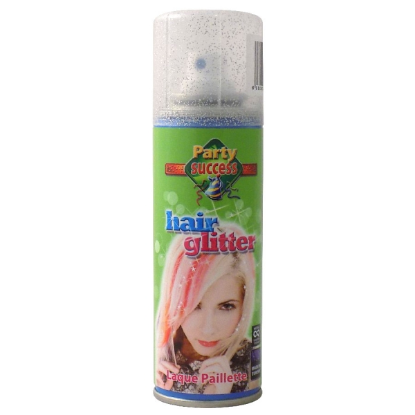 Spray Cu Sclipici Pentru Par Si Corp Party Succes - Silver, 125 ml-big