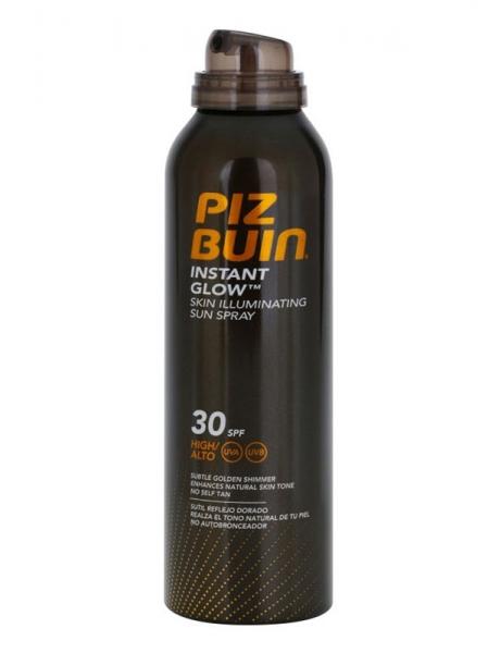 Spray Pentru Evidentierea Bronzului cu efect de iluminare PIZ BUIN Instant Glow SPF 30, 150 ml-big