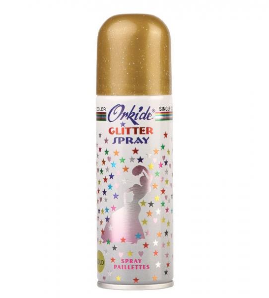 Spray Stralucitor AURIU Pentru Par Si Corp Orkide Glitter Spray, 90 ml-big