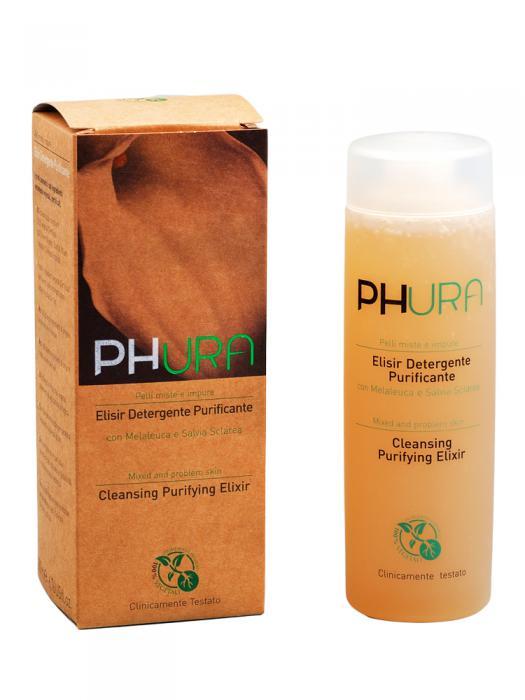 Elixir Purifiant de Curatare PHURA pt Ten Mixt si Probleme Acneice-big
