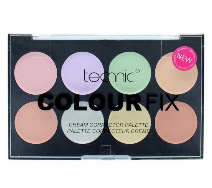 Trusa Profesionala Pentru Conturare Cu 8 Corectoare TECHNIC Colour Fix-big