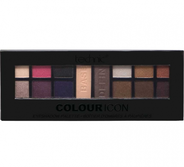 Paleta Profesionala Cu 14 farduri Technic Colour Icon Eyeshadow Palette-big