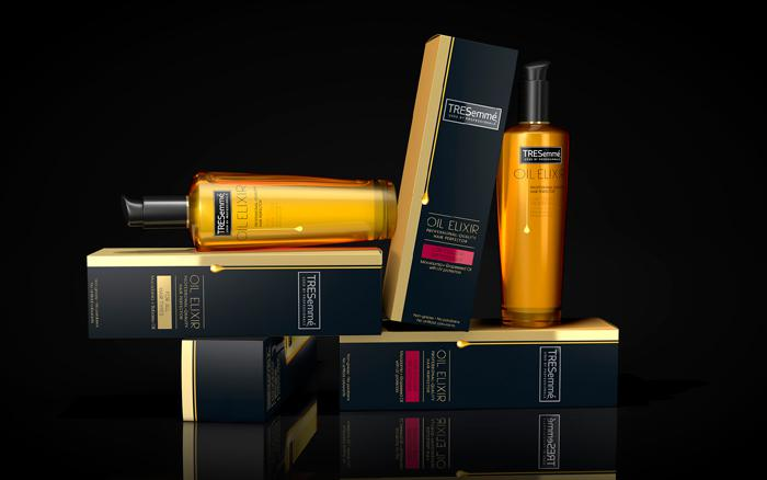 Ulei Profesional Pentru Par Vopsit TRESemme Oil Elixir - 100 ml-big