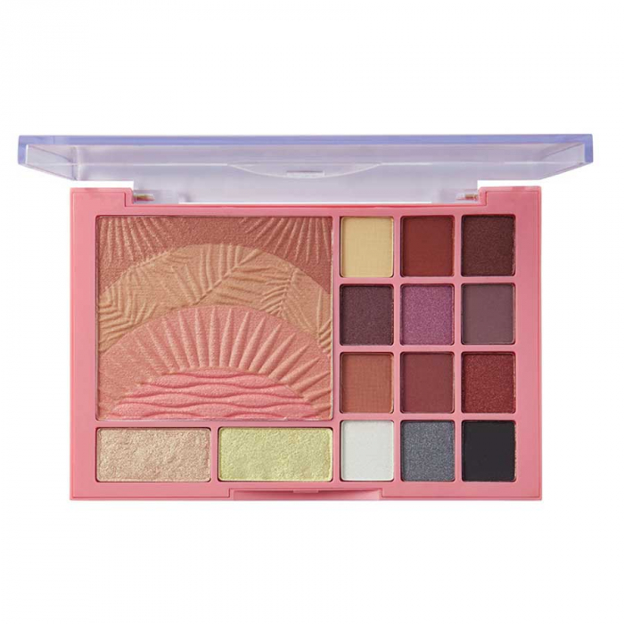Paleta pentru machiaj SUNKISSED Sweet Sunrise The Ultimate Face Palette-big