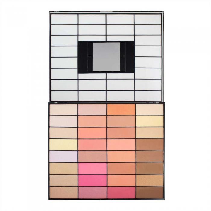 Trusa pentru Conturare Makeup Revolution Ultimate Blush, Light & Contour 2018, 32 nuante-big