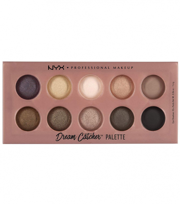 Paleta Profesionala Farduri NYX Dream Catcher Palette, Dusk Til Dawn, 10 x 1.6 g-big