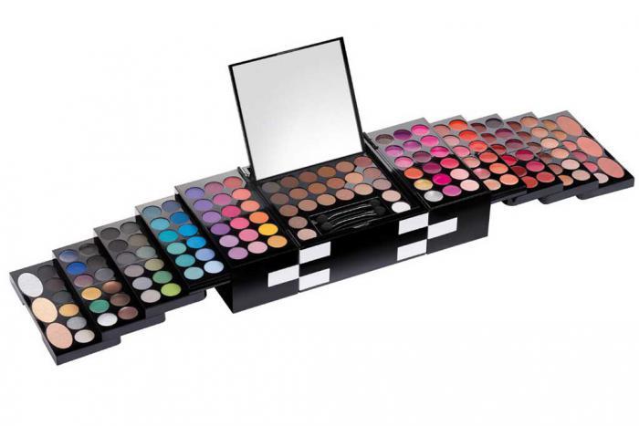 Trusa Profesionala de Machiaj cu 148 culori Make-Up PREMIUM Palette-big