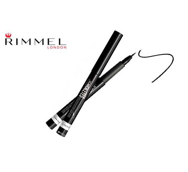 Tus de ochi carioca Rimmel London Scandal Eyes Precision Micro Eyeliner, 001 Black-big