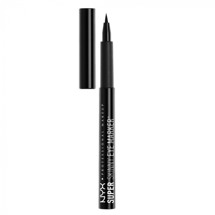 Tus de ochi NYX Professional Makeup Super Skinny Eye Marker, Carbon Black, 1.1 ml-big