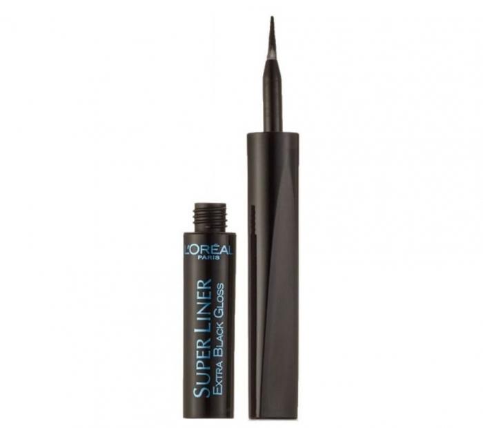 Tus De Ochi L'OREAL Super Liner Extra Black Gloss - Black-big