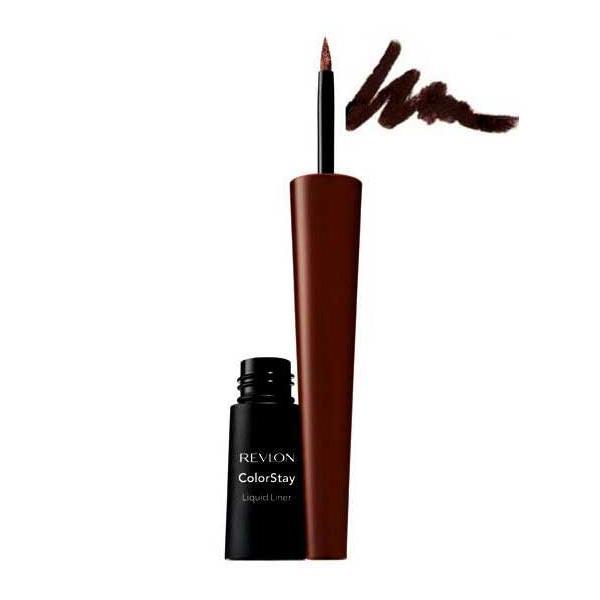 Tus de ochi lichid REVLON Colorstay Liquid Liner- Black Brown (Maro Inchis), 2.5ml-big
