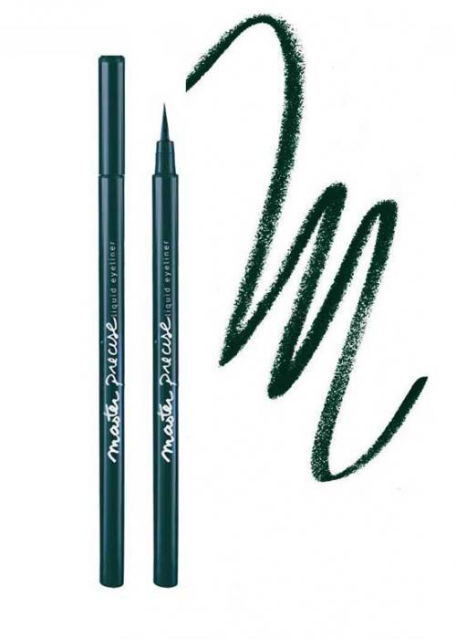 Tus De Ochi Lichid Maybelline Master Precise - Jungle Green-big