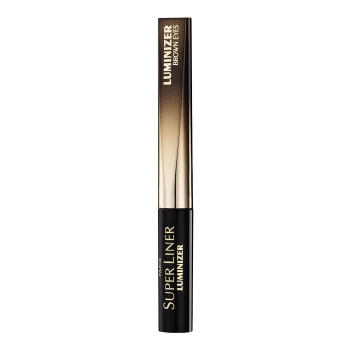 Tus De Ochi L'oreal Super Liner Luminizer - Brown Eyes, Black Diamond-big