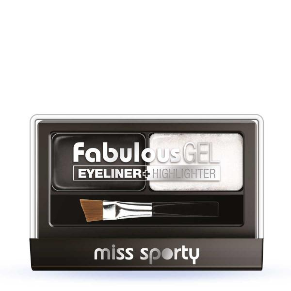 Paleta Tus De Ochi Si Iluminator Miss Sporty Fabulous Gel-Black&White-big