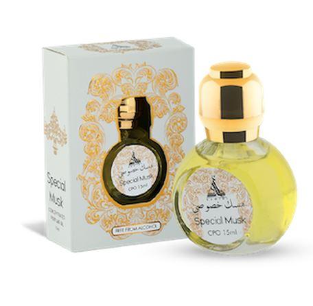 Ulei de parfum arabesc HAMIDI Special Musk Perfume Oil, formula concentrata, 15 ml-big