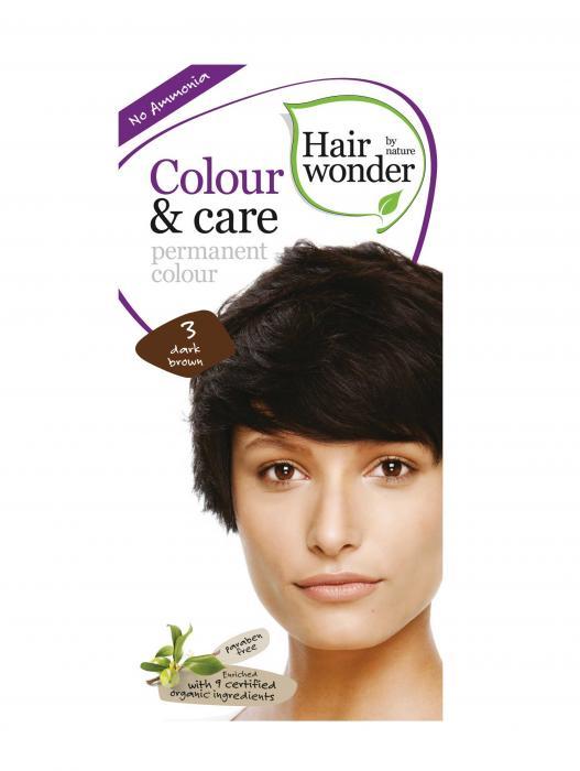 Vopsea De Par Fara Amoniac HennaPlus Hair Wonder-3 Dark Brown-big