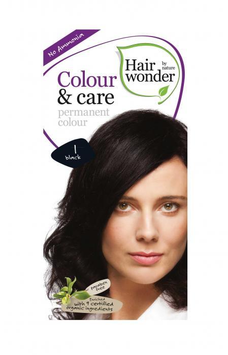Vopsea De Par Fara Amoniac HennaPlus Hair Wonder-1 Black-big