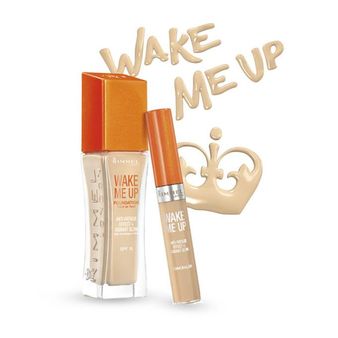 Fond de Ten Rimmel Wake Me Up - 201 Classic Beige, 30 ml-big