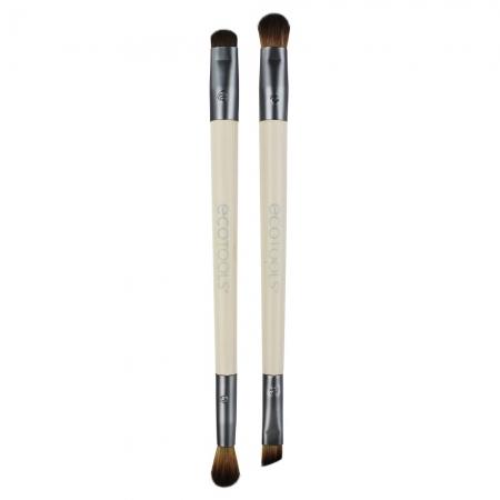 Set 2 pensule cu 4 capete Ecotools Enhancing Eye1