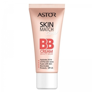 BB Cream Astor Skin Match Cream 5 In 1 - 100 Ivory, 30 ml
