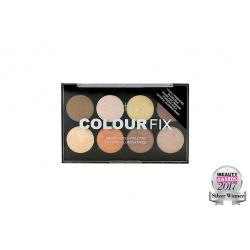 Paleta Profesionala cu 8 Iluminatoare Pudra TECHNIC Colour Fix Highlighter Palette, 15.6g2
