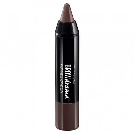 Creion pentru sprancene Maybelline New York BROW Drama Pomade Crayon, Dark Brown