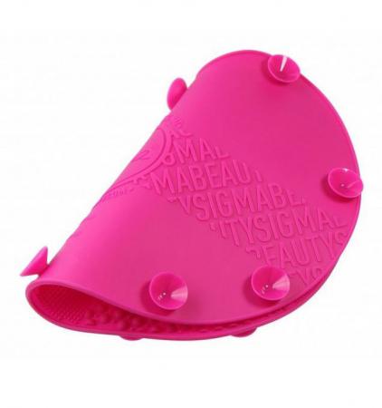 Dispozitiv de Silicon pentru Curatarea Pensulelor de Makeup, Brush SPA cu 7 suprafete diferite si sistem de fixare antialunecare3